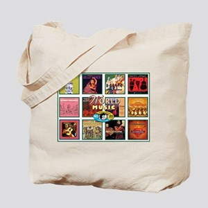 World Music Tote Bag