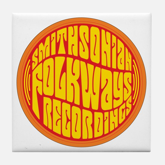 Folkways Recordings Tile Coaster