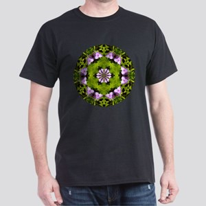 Spiderwort and Ferns Dark T-Shirt