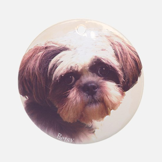 Betsy Ornament (Round)