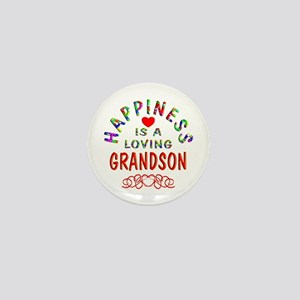 Grandson Mini Button