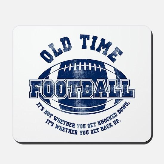 Old Time Football Mousepad