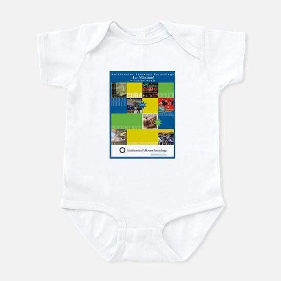 Latino Music Infant Bodysuit