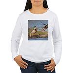 Mallard Flight Women's Long Sleeve T-Shirt