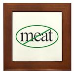Vegetarian Framed Tile