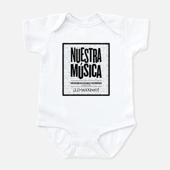 Nuestra Musica Infant Bodysuit