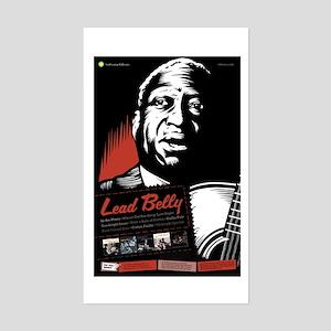 Lead Belly Rectangle Sticker