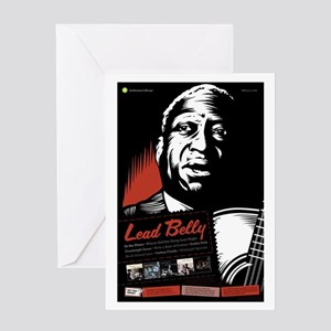 Lead Belly Greeting Card