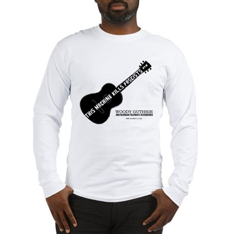 Woody Guthrie Long Sleeve T-Shirt