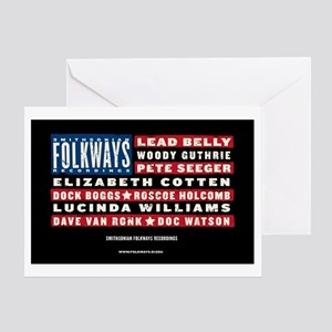 Folkways Artists Greeting Card