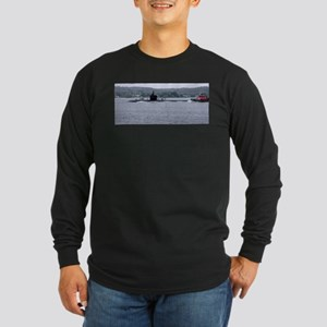 Sub Going to Sea Long Sleeve Dark T-Shirt