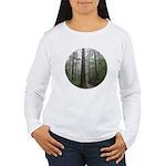Redwood Forest Women's Long Sleeve T-Shirt