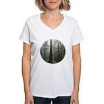 Redwood Forest Women's V-Neck T-Shirt