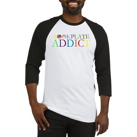 Bookplate Addict Baseball Jersey