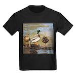 Mallard Ducks Kids Dark T-Shirt