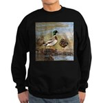 Mallard Ducks Sweatshirt (dark)