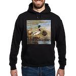 Mallard Ducks Hoodie (dark)