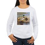 Mallard Ducks Women's Long Sleeve T-Shirt
