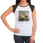 Mallard Ducks Women's Cap Sleeve T-Shirt