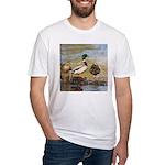 Mallard Ducks Fitted T-Shirt