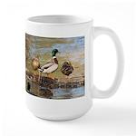 Mallard Ducks Large Mug