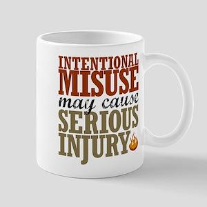 Misuse May Cause Injury | Mug
