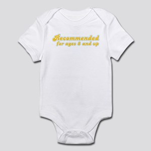 Recommended 8 & Up   Infant Bodysuit