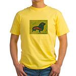 pop art Ginger Yellow T-Shirt