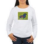 pop art Ginger Women's Long Sleeve T-Shirt