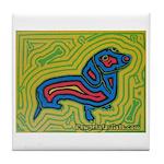 pop art Ginger Tile Coaster