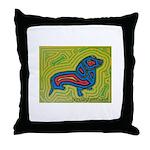 pop art Ginger Throw Pillow