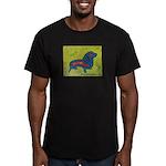 pop art Ginger Men's Fitted T-Shirt (dark)