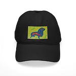 pop art Ginger Black Cap