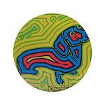 """pop art Ginger 3.5"""" Button (100 pack)"""