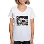 Law Dogs Women's V-Neck T-Shirt
