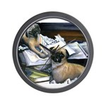 Law Dogs Wall Clock