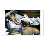 Law Dogs Rectangle Sticker 50 pk)