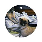 Law Dogs Ornament (Round)