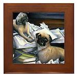 Law Dogs Framed Tile