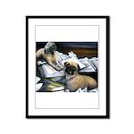 Law Dogs Framed Panel Print