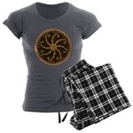 Disc Golfer Women's Charcoal Pajamas