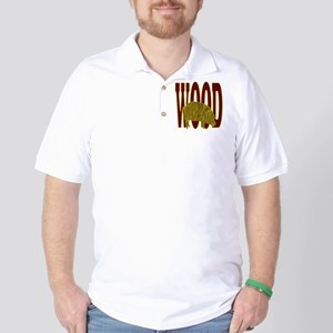 Chinese Wood Pig Golf Shirt