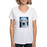 Blue Molly Women's V-Neck T-Shirt