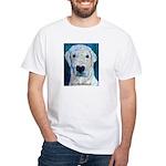 Blue Molly White T-Shirt