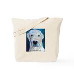 Blue Molly Tote Bag