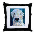 Blue Molly Throw Pillow
