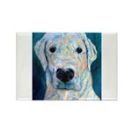 Blue Molly Rectangle Magnet (10 pack)