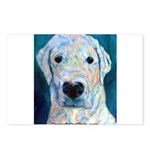 Blue Molly Postcards (Package of 8)