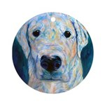 Blue Molly Ornament (Round)