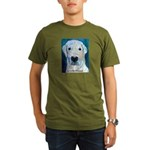 Blue Molly Organic Men's T-Shirt (dark)